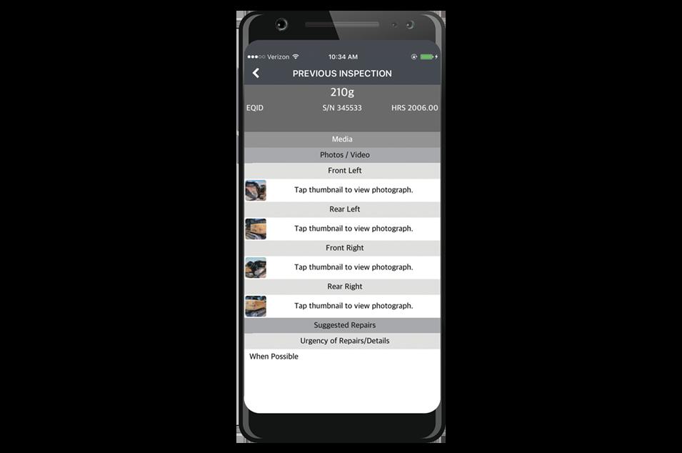 Inspection App Fleet Intelligence